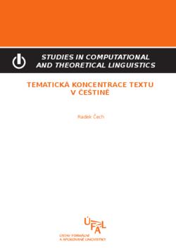 Čech Radek: Tematická koncentrace textu v češtině