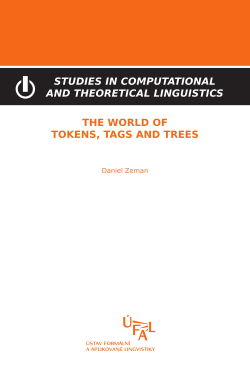 Zeman Daniel: The world of tokens, tags and trees